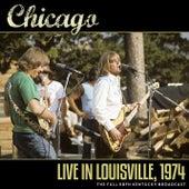 Live in Louisville, 1974 de Chicago
