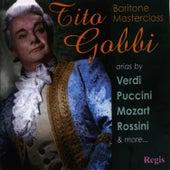 Baritone Masterclass de Tito Gobbi