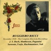 Ruggiero Ricci November 1938 - The Complete Electrola Recordings von Ruggiero Ricci