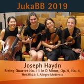 String Quartet No. 11 in D Minor, Op. 9, No. 4, Hob.III:22: I. Allegro Moderato de Lissa Carnarius