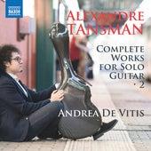 Tansman: Complete Works for Solo Guitar, Vol. 2 de Andrea de Vitis