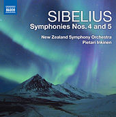 Sibelius: Symphonies Nos. 4 & 5 by Pietari Inkinen