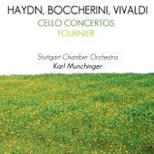 Haydn, Boccherini & Vivaldi Cello Concertos von Pierre Fournier