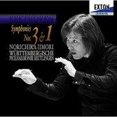 Beethoven: Symphonies Nos.3 & 1 von Norichika Iimori
