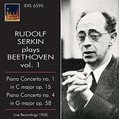 Rudolf Serkin Plays Beethoven, Vol. 1 (1958) von Various Artists