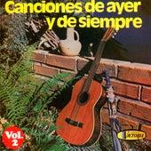 Canciones de Ayer y de Siempre, Vol. 2 de Varios Artistas