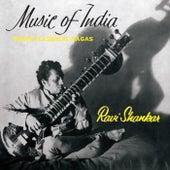 Music of India - Three Classical Rãgas von Ravi Shankar