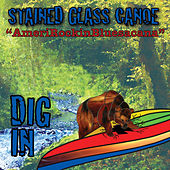 Dig In de Stained Glass Canoe