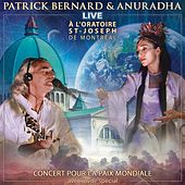 Patrick Bernard & Anuradha Live a L'oratoire de Patrick Bernard