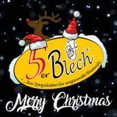 Merry Christmas de 5er Blech