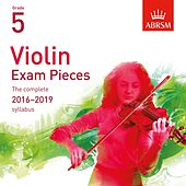 Violin Exam Pieces 2016 - 2019, ABRSM Grade 5 by Katie Stillman