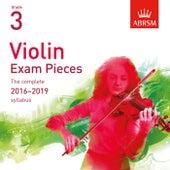 Violin Exam Pieces 2016 - 2019, ABRSM Grade 3 by Simon Jones