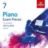 Piano Exam Pieces 2017 & 2018, Grade 7 de Robert Thompson
