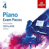 Piano Exam Pieces 2017 & 2018, Grade 4 by Richard Uttley