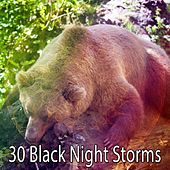 30 Black Night Storms by Rain Sounds and White Noise