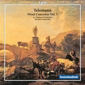 Telemann: Wind Concertos, Vol. 5 by Various Artists
