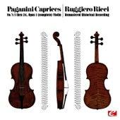 Paganini: 24 Caprices for solo violin, Op.1 (Remastered Historical Recording) von Ruggiero Ricci
