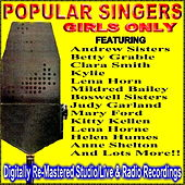 Popular Singers - Girls Only by Various Artists