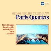 Telemann: Paris Quartets by Frans Brüggen