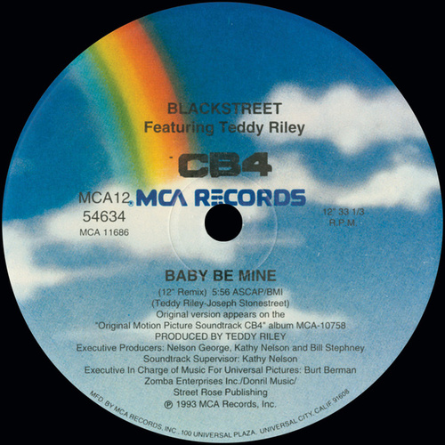 Baby Be Mine by Blackstreet
