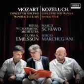 Mozart: Concertos For Two Pianos K 242 & 365; Kozeluch: Four Hands Piano Concerto de Marco Schiavo