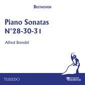 Beethoven: Piano Sonatas No. 28, No. 30, No. 31 by Alfred Brendel