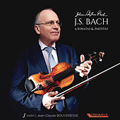 Bach: 6 Sonatas & Partitas for Solo Violin by Jean-Claude Bouveresse