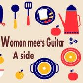 Woman Meets Guitar Side A Famous Pops Playedby Acoustic Guitar de Antonio Morina Gallerio