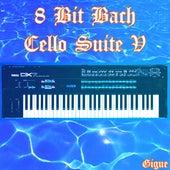 Bach Cello Suite V Gigue de Johann Tron