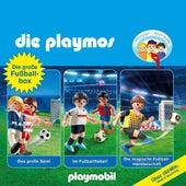Die grosse Fussball-Box, Folgen 7, 51, 60: Das grosse Spiel / Im Fussballfieber / Die magische Fussballmeisterschaft (Das Original Playmobil Hörspiel) von Die Playmos