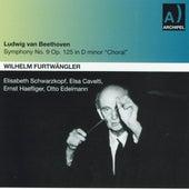 Ludwig Van Beethoven : Symphony No. 9 In D minor, Op. 125. Choral by Wilhelm Furtwängler