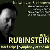 Beethoven: Piano Concerto No. 1 in C Major, Piano Concerto No. 2 in B-Flat Major de Artur Rubinstein