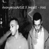 Hoes (feat. Impact) de AnonymousArtizt