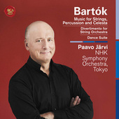 Bartók: Music for Strings, Percussion and Celesta, Divertimento for String Orchestra, Dance Suite de Paavo Jarvi