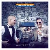 White / Weiss von Orange Blue