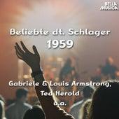 Beliebte deutsche Schlager 1959 de Various Artists