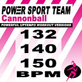 Cannonball (Powerful Uptempo Cardio, Fitness, Crossfit & Aerobics Workout Versions) by Power Sport Team