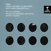 Grieg: Piano Concerto, 6 Lyric Pieces & Liszt: Piano Concerto No.2 by Leif Ove Andsnes