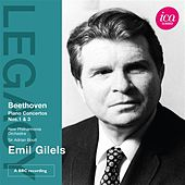 Beethoven: Piano Concertos Nos. 1 & 3 by Emil Gilels