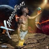 Xannilations EP fra Xanni Of YK