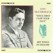 Art Songs in English (1908-1941) by Various Artists