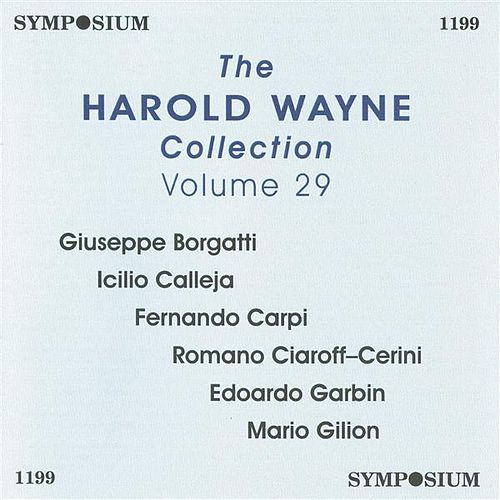 The Harold Wayne Collection, Vol. 29 (1904-1913) by Various Artists