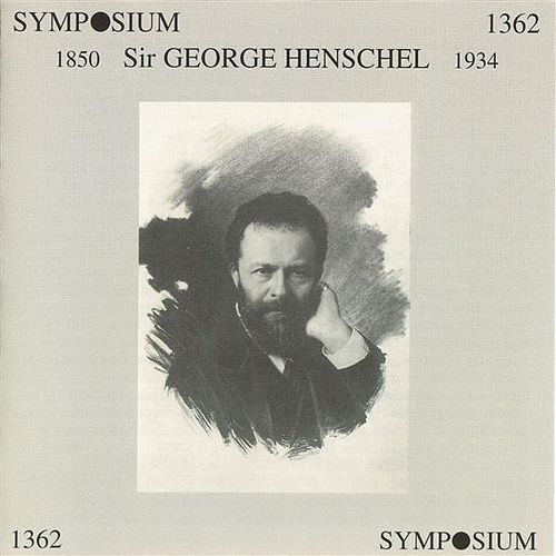 Sir George Henschel by Various Artists