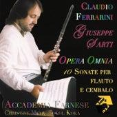 Giuseppe Sarti: Opera Omnia 10 Sonate per Flauto e Cembalo von Claudio Ferrarini