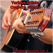 Country Greats Vol. 3 de Various Artists