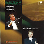 Stravinsky: Firebird Suite - Shchedrin: Piano Concerto No. 5 by Mariss Jansons