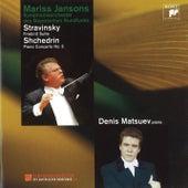Stravinsky: Firebird Suite - Shchedrin: Piano Concerto No. 5 von Mariss Jansons