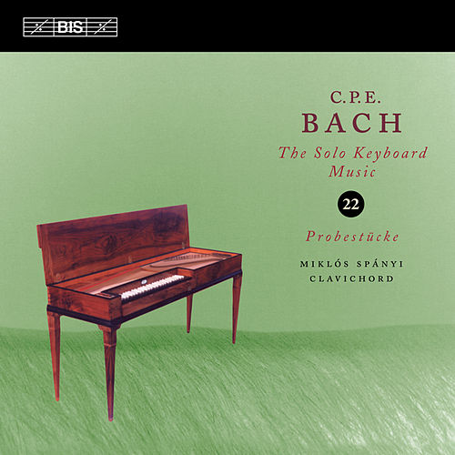 Bach: Solo Keyboard Music, Vol. 22 by Miklos Spanyi