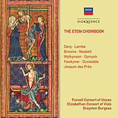 The Eton Choirbook de Grayston Burgess