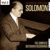 Milestones of a Piano Legend: Solomon, Vol. 2 de Solomon